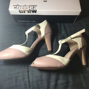 """Modcloth Shoes - Chelsea Crew """"Giselle"""" Peep toe Heels"""